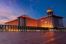 Istiqlal Mosque at Daerah Khusus Ibukota Jakarta